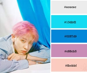 colour palette, exo, and chanyeol image