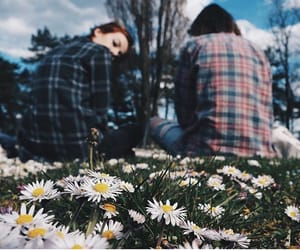 asian, daisy, and fashion image