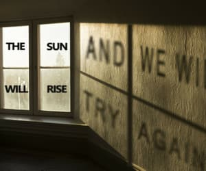 again, rise, and and image
