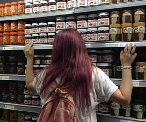 nutella, girl, and tumblr image