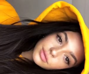 skincare, yellow, and selfie image