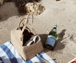 bag, vacation, and beach image