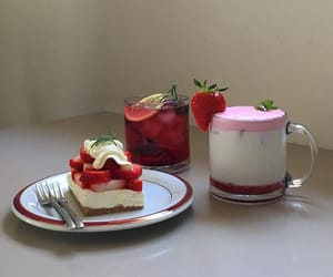 aesthetic, cafe, and pink image