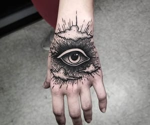 eye, ink, and Tattoos image