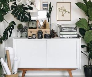 books, decor, and interior design image