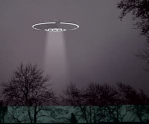 alien, gif, and ufo image