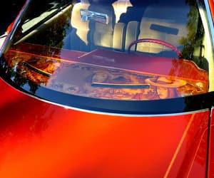 orange, cars, and street photography image