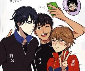 friends, yuri on ice, and yuri katsuki image