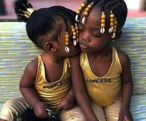 adorable, beautiful, and black babies image