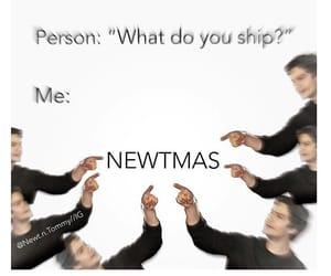 newt, thomas, and thomas sangster image