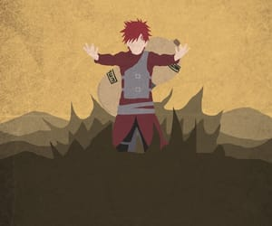 gaara, anime, and naruto image
