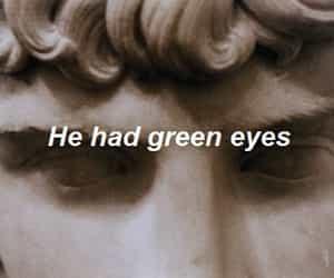 green eyes and art image