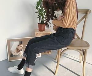 asian fashion, casual, and yako image