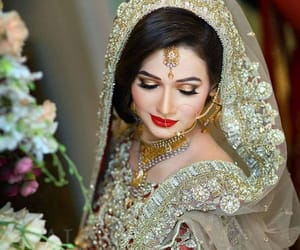 indian bride, shaadi, and desi image