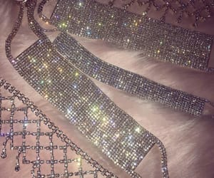chokers, gold, and jewels image