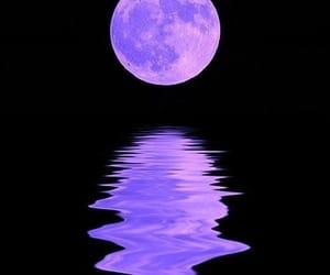 moon, purple, and aesthetic image