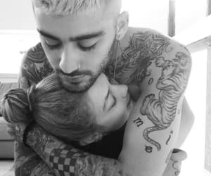 couple, gigi hadid, and zayn image