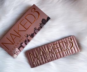 makeup, palette, and urban decay image