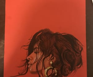 art, drawing, and cabello image