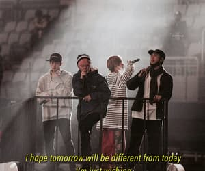bts, aesthetic, and Lyrics image