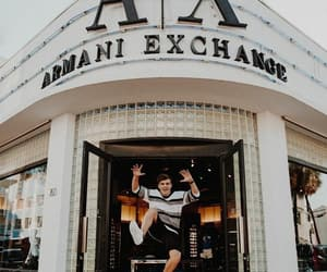 armani exchange and martín garrix image