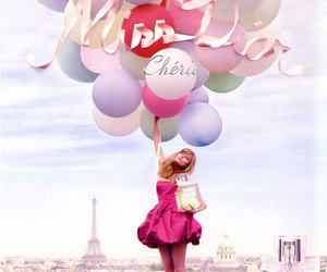 dior, balloons, and miss dior image
