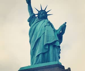 freedom, statue of liberty, and liberty image