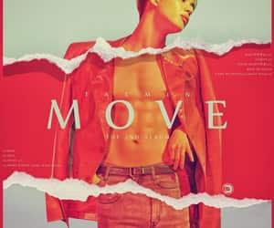 album, Move, and kpop image