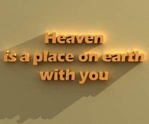 quotes, heaven, and yellow image