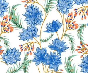floral, pattern, and homedecor image