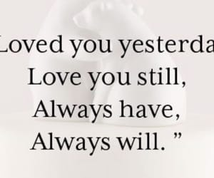 I Love You, love quote, and love image