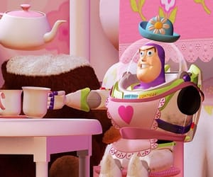 toy story, pink, and disney image