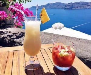 Greece, holidays, and santorini image