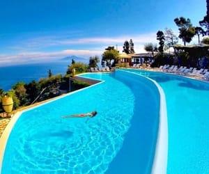 capri, holidays, and italy image