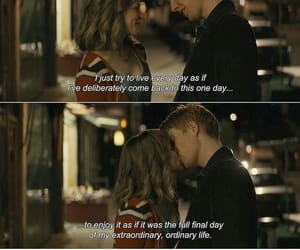 quotes, movie, and about time image