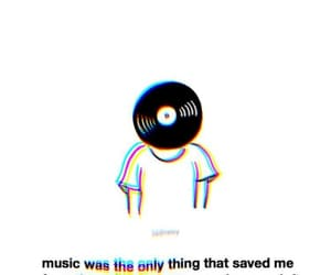glitch, hazy, and music image