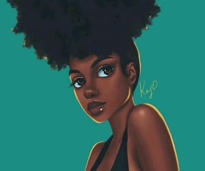 black girl, art, and beautiful image