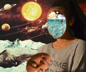 alternative, Collage, and photography image