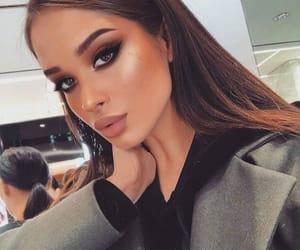 girl, makeup, and fashion image