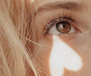 eyes, blonde, and eye image