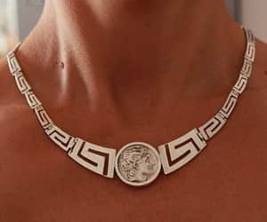 etsy, bib necklace, and alexander the great image