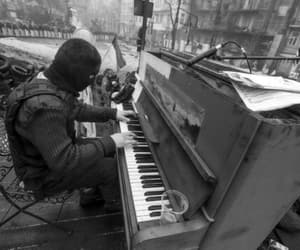 piano, music, and peace image