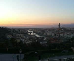 florence, school trip, and italy image