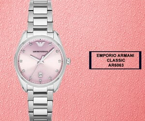 fashion and emporio armani watches image