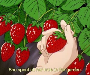 aesthetic, anime, and garden image