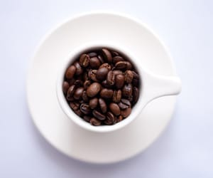 coffee, cup of coffee, and the coffee bean image