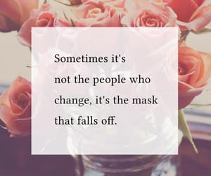 mask, quotes, and change image