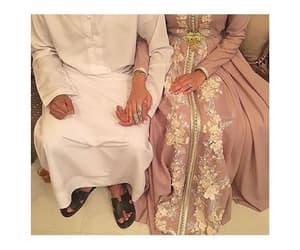 couple, mariage, and halal image