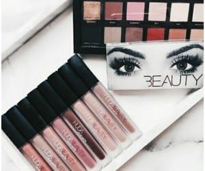 makeup, beauty, and huda beauty image