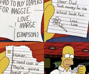 alcoholic, bart simpson, and letters image